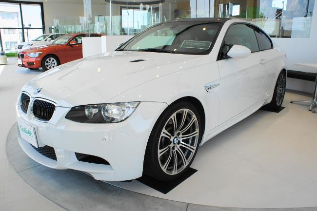 店内展示車(BMW M3 Coupe '10)