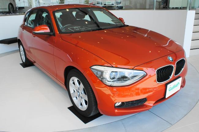 店内展示車(BMW 116i '14)
