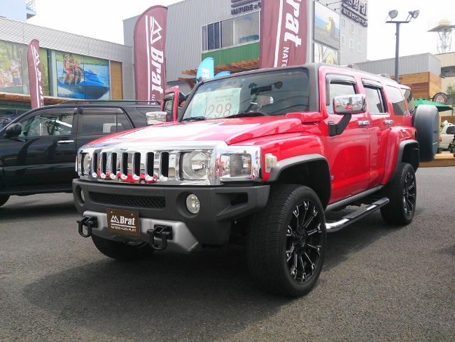 GM HUMMER H3 Luxury PKG (2008年式)