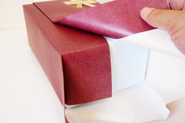 贈り物を贈る人や贈られる人の気持ちになったこだわりの包装